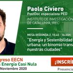 Image for the Tweet beginning: Paolo Civiero @IREC_Energia interviene en