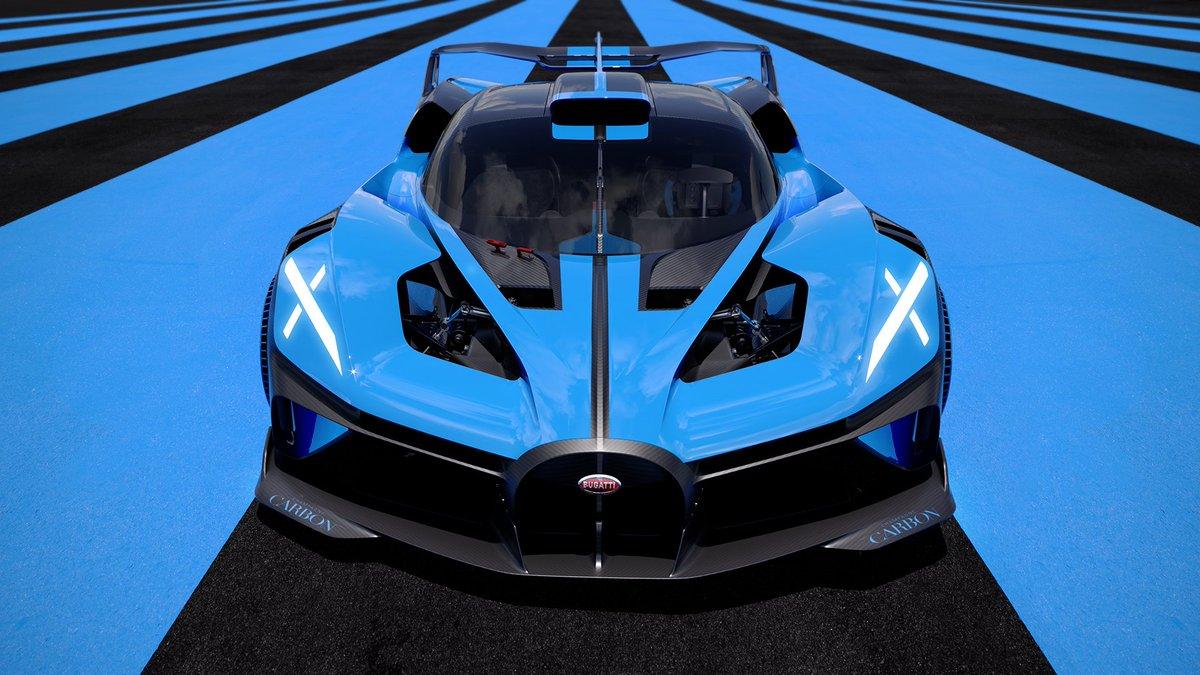 Here she is 🤩🤩🤩 La nouvelle Bugatti Bolide... Juste hors de cet univers : 0-500-0 en 33secs environ 0-100 en 2.17 secondes sans oublier le rapport poids/puissance de 0.67 😱🤯  A quand les 24h du Mans ? 😭 https://t.co/q8za9KFf64