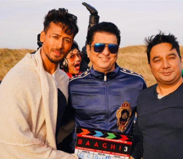 First time SN was launching @iTIGERSHROFF and Tigs proved him right with 6 years of roaring success 🧿🦾  This def calls for a sequel #SajidNadiadwala's #Heropanti2   To be Directed by my bro @khan_ahmedasas  ofcourse our Blockbuster Franchise #Baaghi4 on the way
