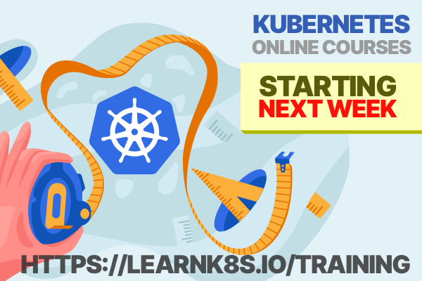 Learnk8s is running a Kubernetes workshop next week! The course is hands-on and you will build (and brake) Kubernetes clusters! You can book your ticket here: learnk8s.io/training Want to chat with the instructors? Join the Telegram group here learnk8s.io/telegram