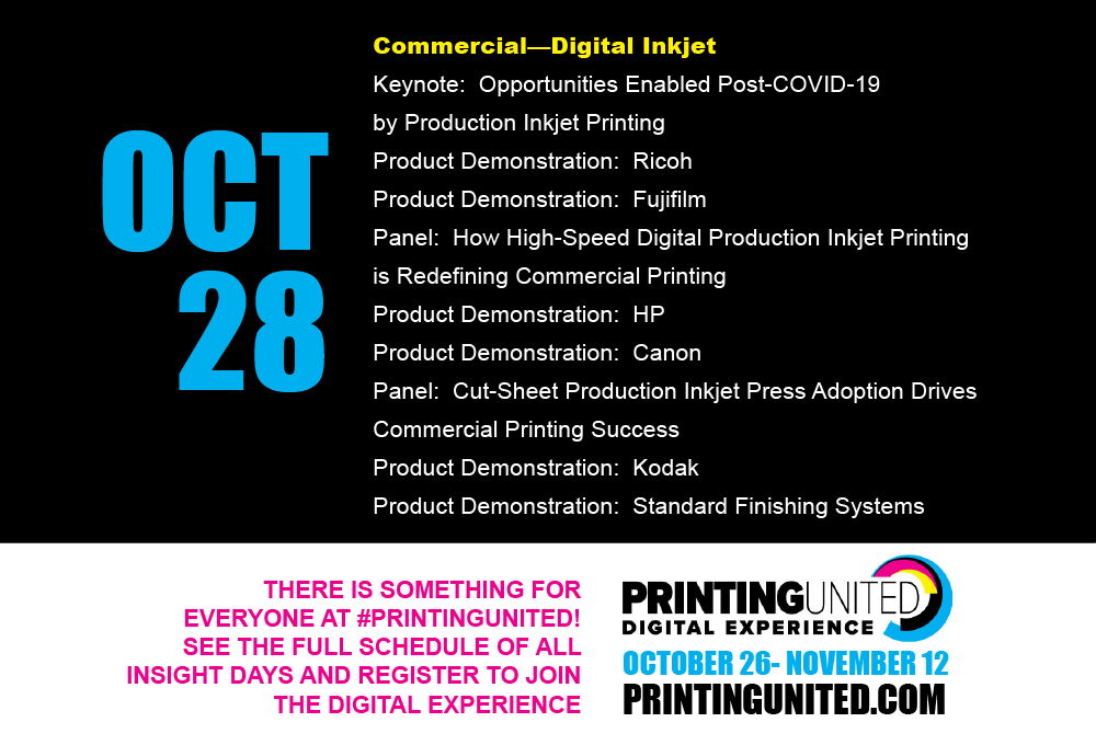 Psssst.... past #PrintingUnited sessions are now replays!  Watch on-demand by registering here https://t.co/rZt6f7hVvZ or login if you have already done that! Easy access to topical info, and who doesn't LOVE topical info?
