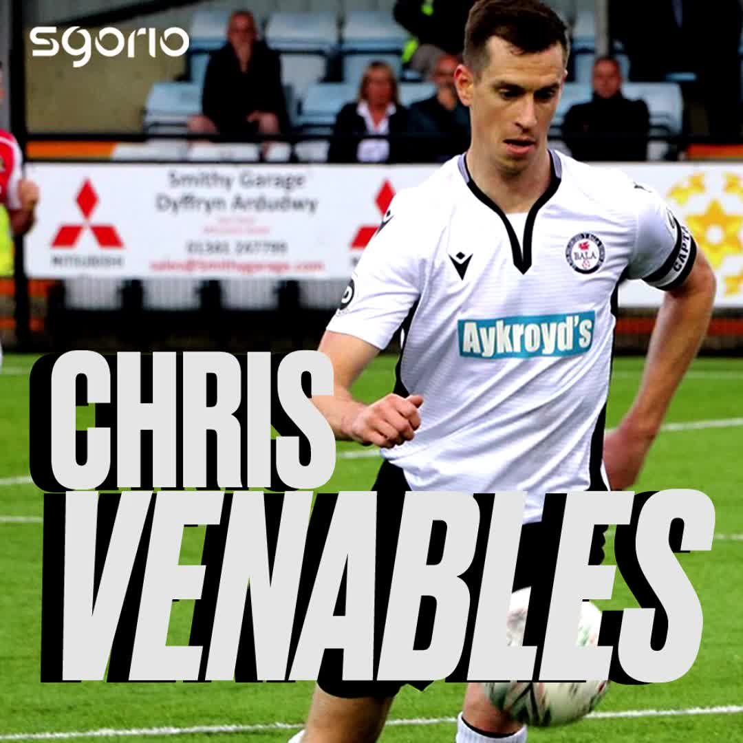 Image for the Tweet beginning: ⭐⚽ CHRIS VENABLES ⭐⚽  ▪️ League's
