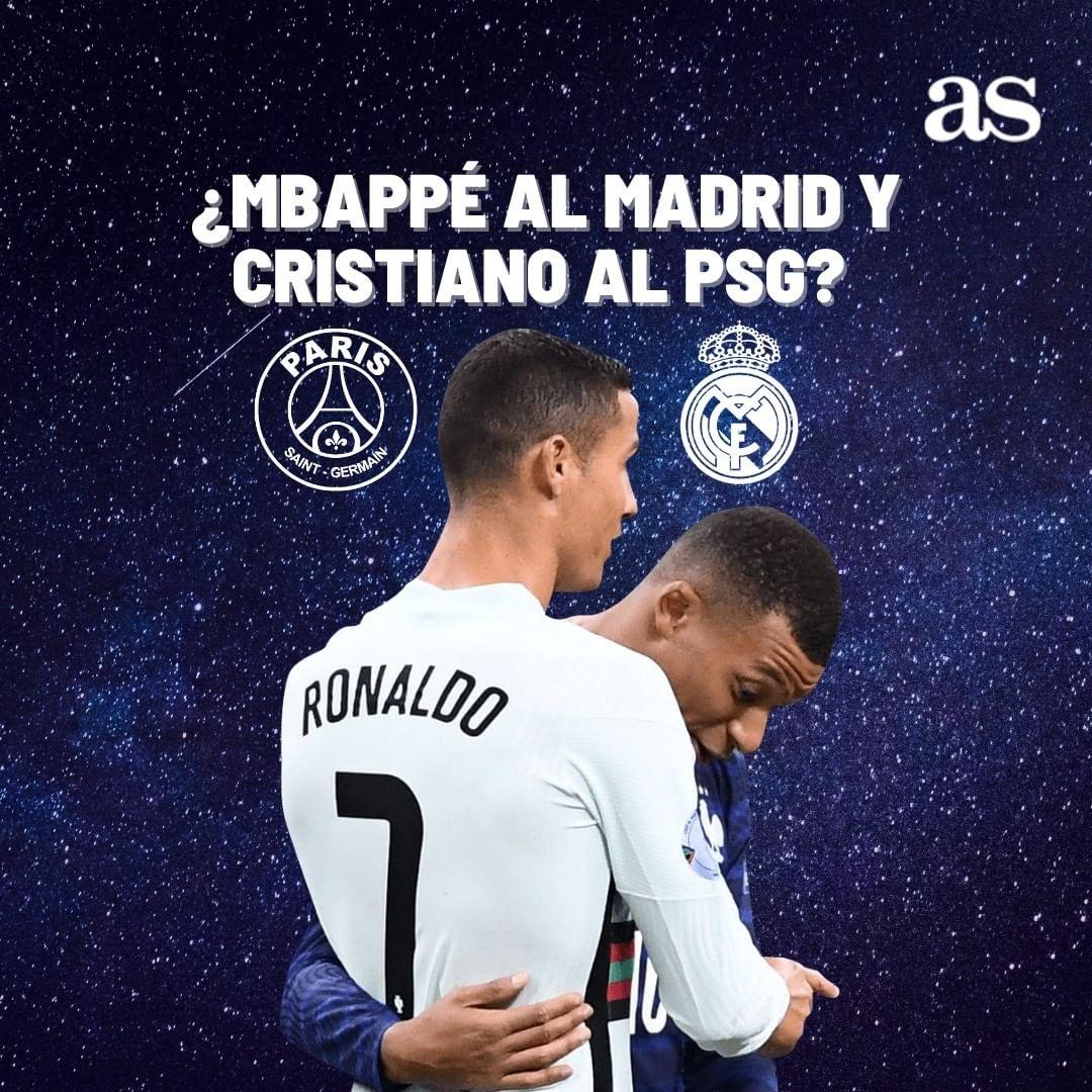 🤔 ¿Quién saldría favorecido si se llegara a dar?  🔃 RT - PSG ♥ FAV - Real Madrid https://t.co/stcHe2Y7nE
