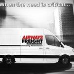 Image for the Tweet beginning: @airwaysfreight is always open for