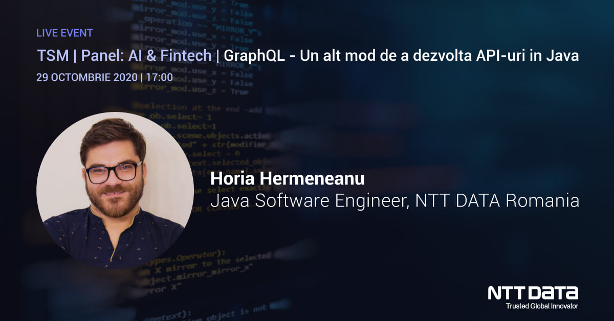 Are you ready for this month's Today Software Magazine Launch? Tomorrow our colleague Horia Hermeneanu will present an overview of designing GraphQL for Modern API Delivery with Java. https://t.co/oL7zQ0FldX