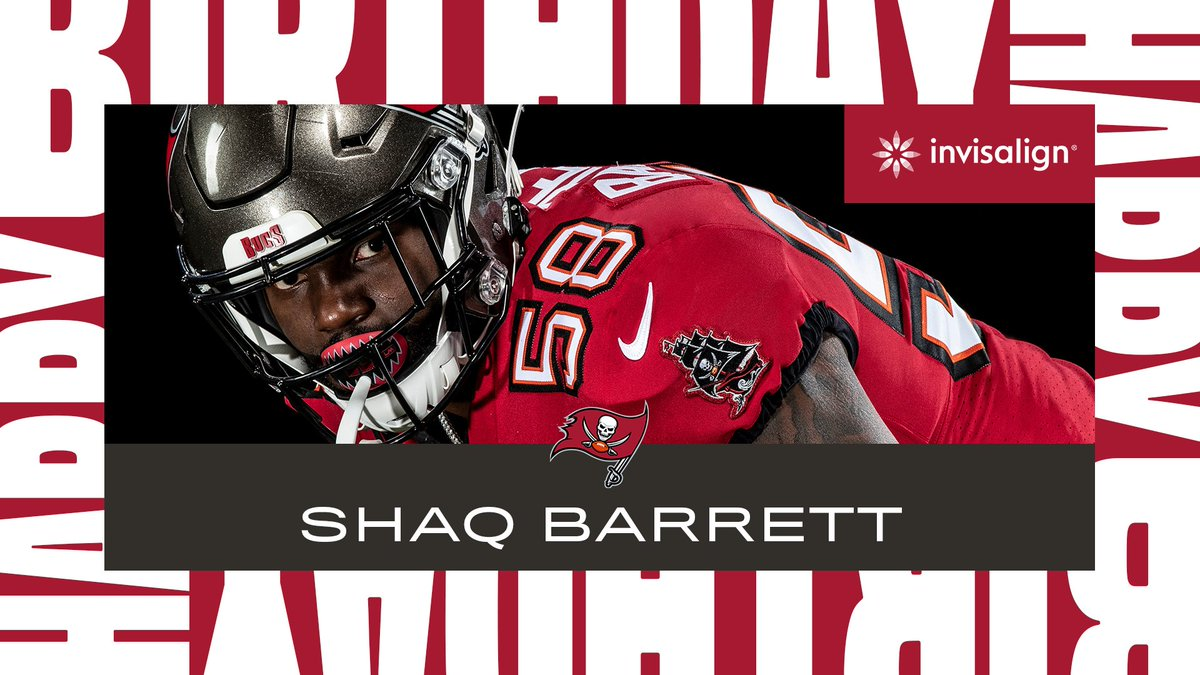 Happy birthday to the one and only #SackBarrett! 🎂