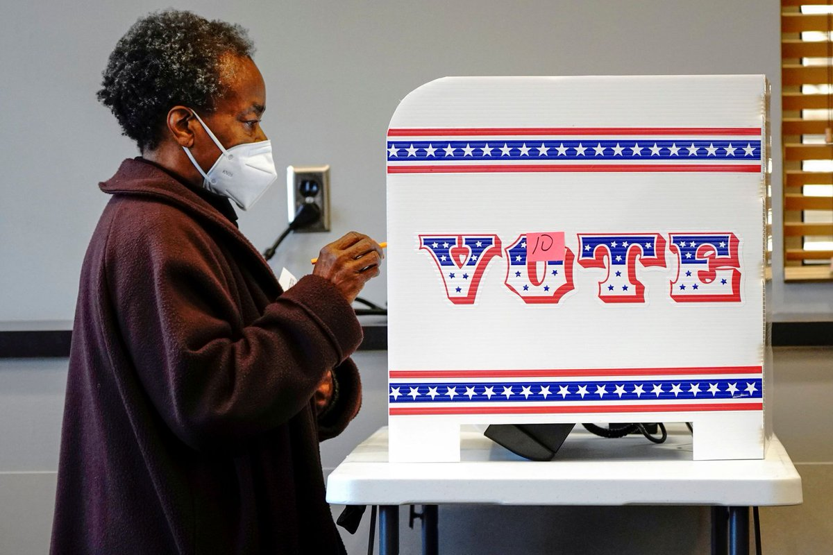 Too hard to vote? Fired-up Black voters are doing it anyway buff.ly/31PJbyK