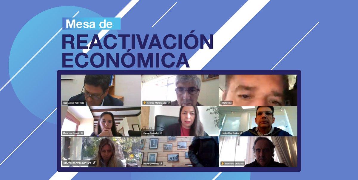 Hoy nuestra Directora Regional Corfo, participó de la Mesa de Reactivación Económica impulsada por Ministerio Hacienda Biobío, en el marco del plan Paso a Paso Chile se Recupera. #VamosBiobío https://t.co/nulShctbeE