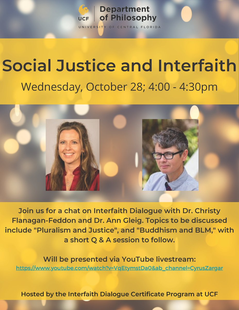 Two hours until our chat with Dr. Christy Flanagan-Feddon and Dr. Ann Gleig! We hope to virtually see you there! https://t.co/OqQVbUf718