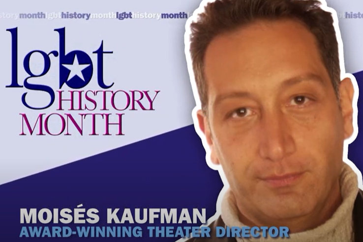 Learn more about Moisés Kaufman: 2020 #LGBT History Month Icon 🏳️🌈 https://t.co/Kjtx4KbinU https://t.co/BBp3Aqrr8W