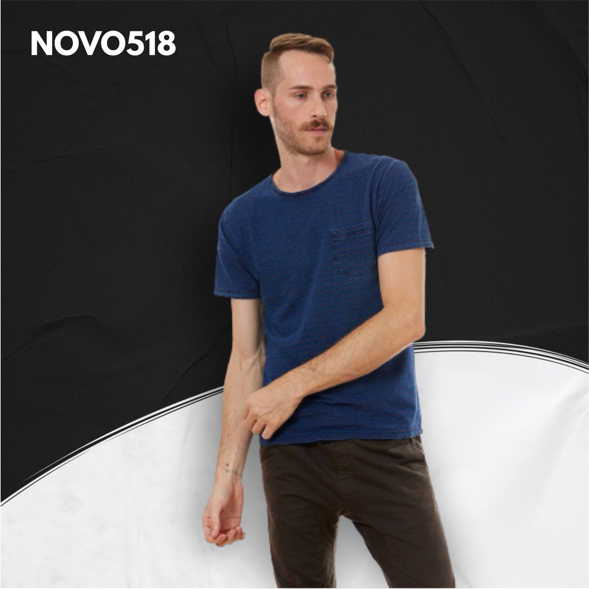 This ever-versatile t-shirt is a style staple your wardrobe needs. Perfect for casual look. Featuring a blue fabric with a classic fit, team this with chunky kicks and shades for a killer combo. ---- 🌐 https://t.co/4KxvfLC7b6 . #novo518 #tshirts #tshirt #fashion #tshirtdesign https://t.co/ryA9emCVxw