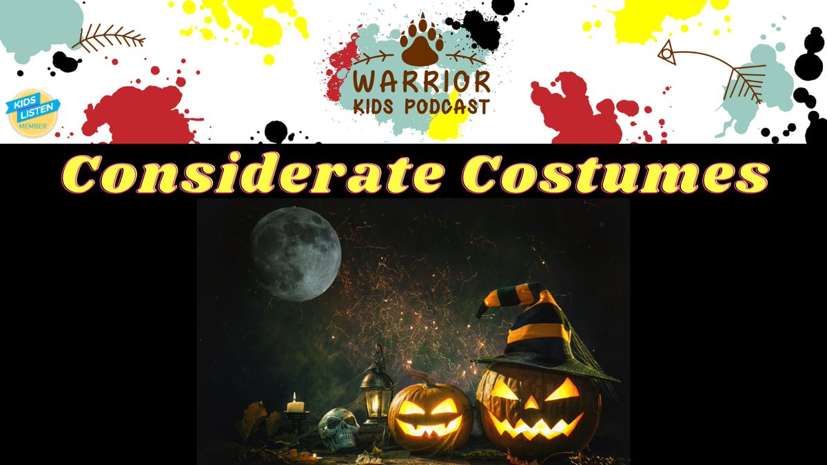 In this weeks episode of #warriorkidspodcast we talk about some of the coolest Halloween costumes we have seen & how to ensure we don't use costumes that hurt peoples' feelings. #Indigenous #kidspodcasts #podcastsforkids #Halloween #educationforaction soundcloud.com/warriorkidspod…