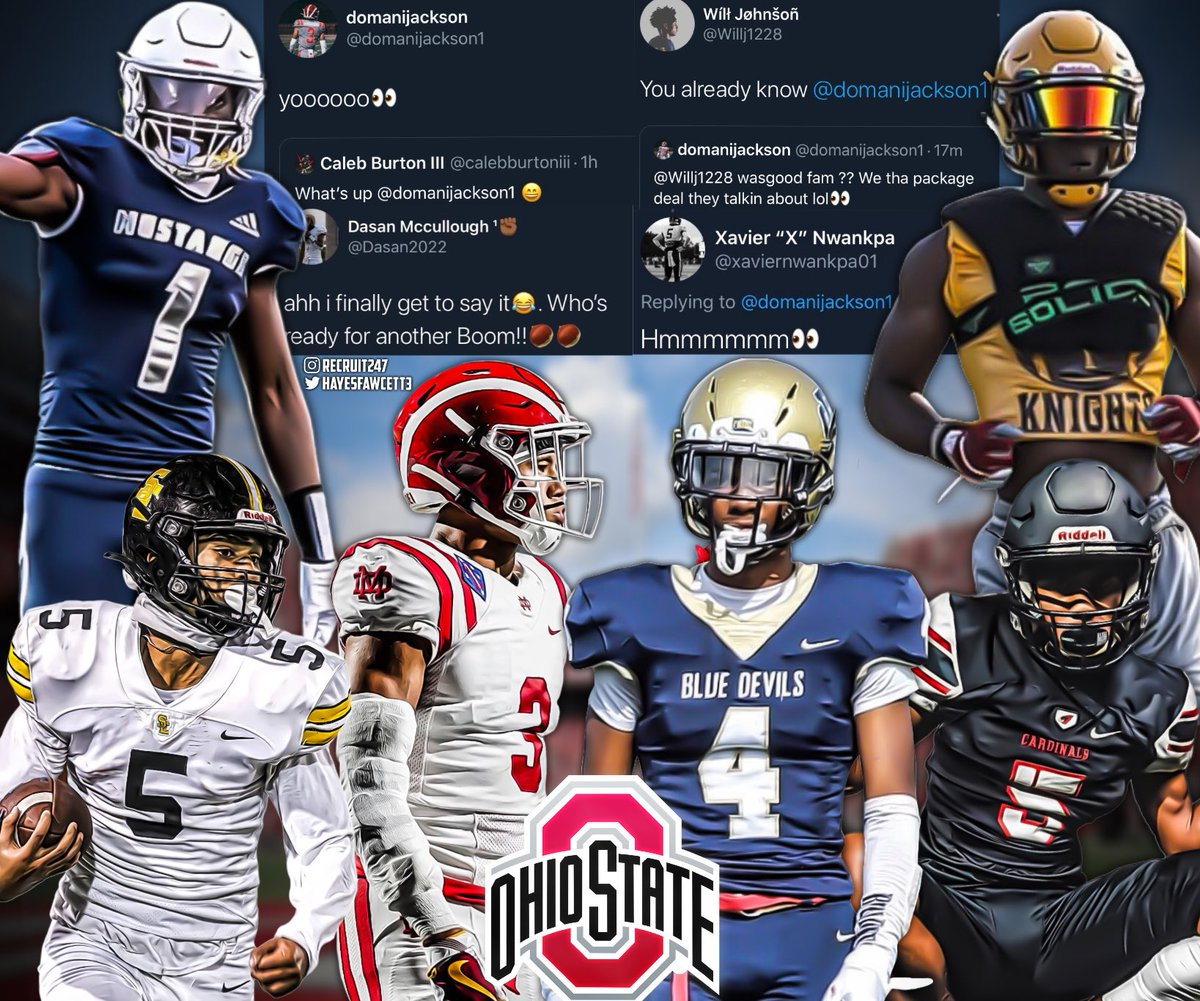 Ohio State commits and top targets are hinting as something coming in the near future👀  Will the Buckeyes end up with Back to Back #1 Classes in 2021 and 2022 ?