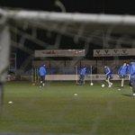 Image for the Tweet beginning: 🔵⚪️ @HaverfordwestFC   Edrych ymlaen i'r