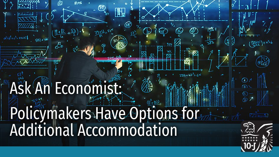 Our Research and Policy Advisors Brent Bundick and A. Lee Smith explain the tools and measures available if central bank officials choose a path of further accommodation: https://t.co/clXAxzb5zZ #EconTwitter #Economy #KCFed https://t.co/GUmLdnRo6k