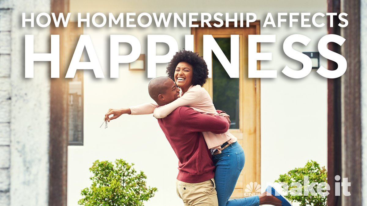 Do you need to own a home to be happy?  (via @CNBCMakeIt)