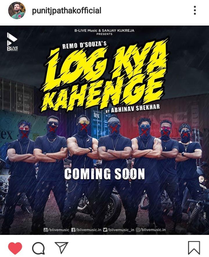 #LogKyaKahenge  Coming soon 🔥🔥🤗🤗 So excited 😍 #PunitJPathak #Remodsouza #SushantPujari #DharmeshYelande #SalmanYusuffKhan #RahulShetty