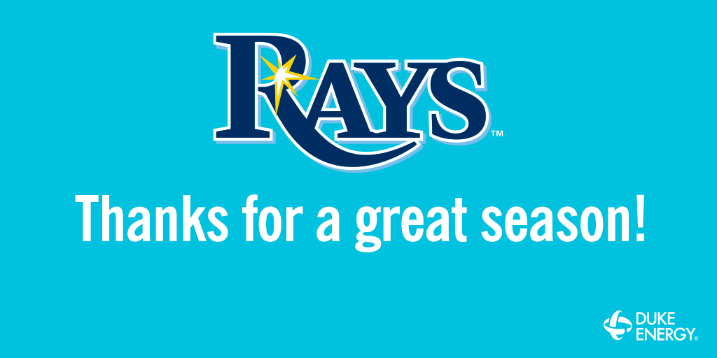 Thank you @RaysBaseball for an incredible season! Even though the series is over, the team still managed to hit 114 home runs this season & earned $123K for @211tbc. Learn more about how the donation is supporting our local customers & communities: https://t.co/XZk6yMWm7T #RaysUp https://t.co/Cu5zzi6zOg