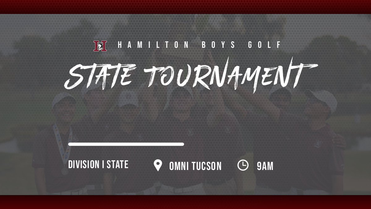 Good luck to the boys at the State Tournament today and tomorrow! They've worked hard all year, time to put it all together #huskyproud @HHS_Athletics_1 @Hamilton_High @ChandlerUnified @CUSDAthletics https://t.co/blh8zvsnHa