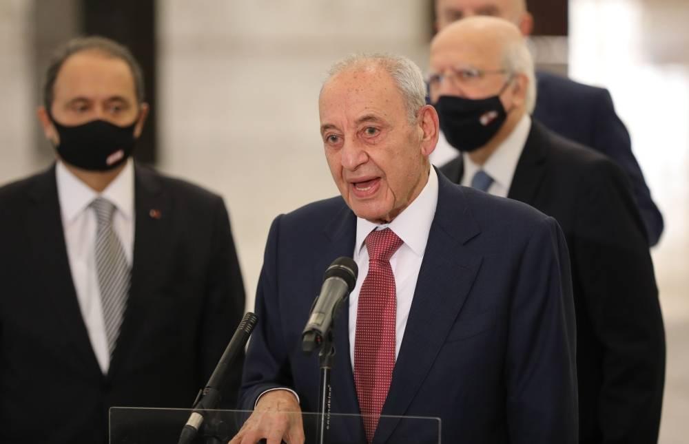 """#Liban Berry : Le nouveau cabinet pourrait naître """"dans les quatre ou cinq prochains jours"""" https://t.co/zA0Wa1HwAL https://t.co/zk9WdYgzju"""