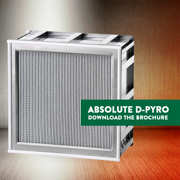 "Absolute D-Pyro filter is an innovation in high-temperature filtration. It achieves H14 in the production ""hot zone"" with zero emissions, zero tempering, and zero cleaning. Download the brochure: https://t.co/Cj4j3HLWaO  #cleanairmatters #lifescience #vaccine #pharma https://t.co/3rJTboTZ06"