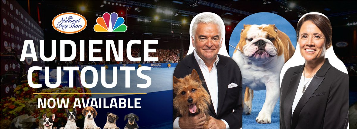 "Calling all cardboard canines!  Have a chance ""to be in the audience"" at the @TheNatlDogShow with a special cutout.   Order here: https://t.co/l4FV9FiZeV https://t.co/vPIgr1XNQS"