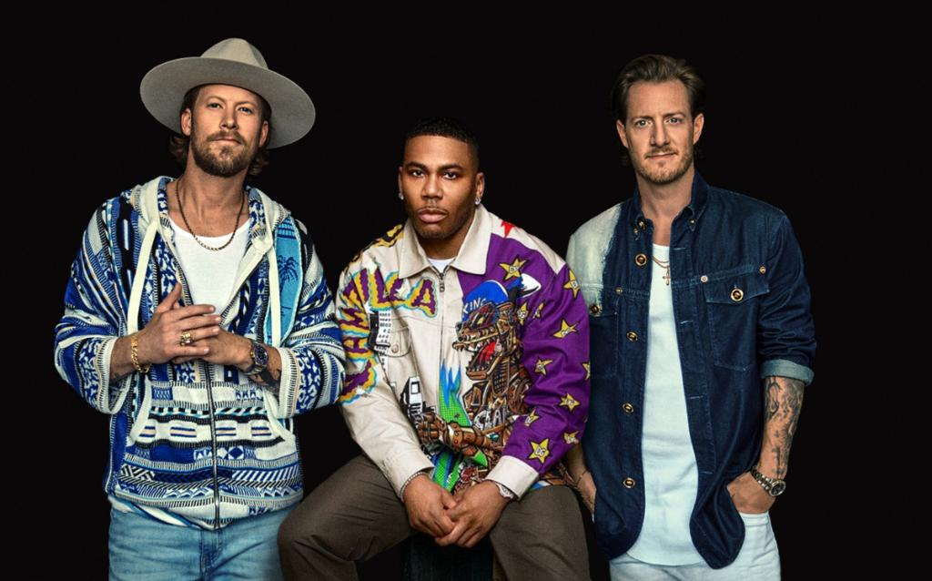 """.@Nelly_Mo has paired up with country duo @FLAGALine on the new hip-hop country crossover single """"Lil Bit."""" Hear it now:"""