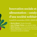 Image for the Tweet beginning: Comment l'#InnovationSociale peut-elle propulser le