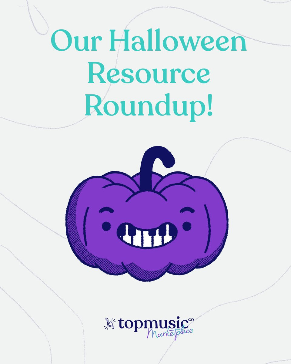 Many of these resources can be downloaded instantly and get ALL the halloween fun in your studio today! 👻 Halloween https://t.co/DZxad8Iomd #halloween #pianoteachers #musicteachers #musiclessons https://t.co/Ytntkuttaa