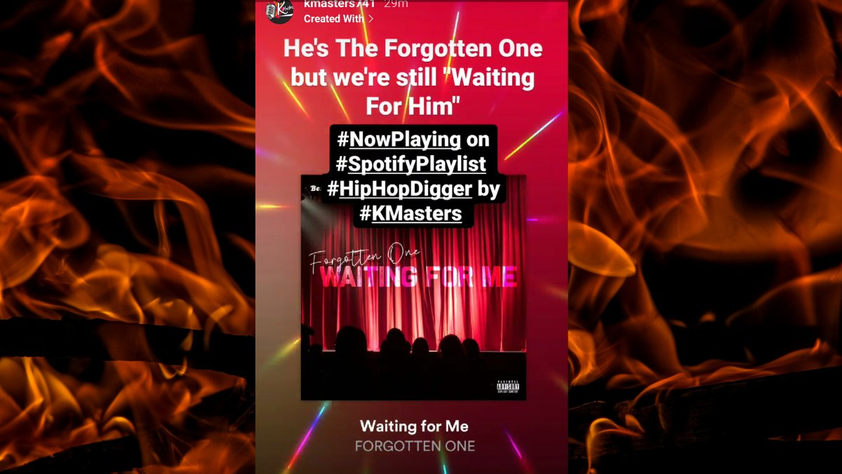 @ForgottenOneJSF #NowPlaying #SpotifyPlaylists #HipHopDigger by #KMasters #HipHopAwards #HipHopAwards2020 #hiphop #HipHopMusic #HipHopCulture #rap #rapper #Rappers   https://t.co/TgTjiTqOkh https://t.co/PxxP2CleUe