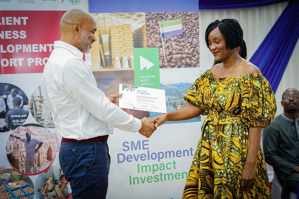@CORDAID_SL Congrats. Every business needs a helping hand. Recognising that is the first step to success. I'm pleased to have been part of Cordaid's efforts to grow #SierraLeone's SME sector, & particularly female led businesses, through ReGrow West Africa's past support for the programme. https://t.co/p0w7L4J6pG