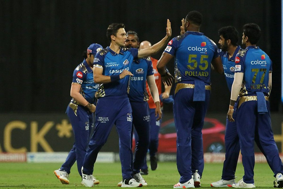 #IPL2020 Bangalore manage to score a decent total. Mumbai need 165 to win. LIVE UPDATES: sify.com/sports/cricket… #MIvsRCB | #RCBvsMI | #Dream11IPL