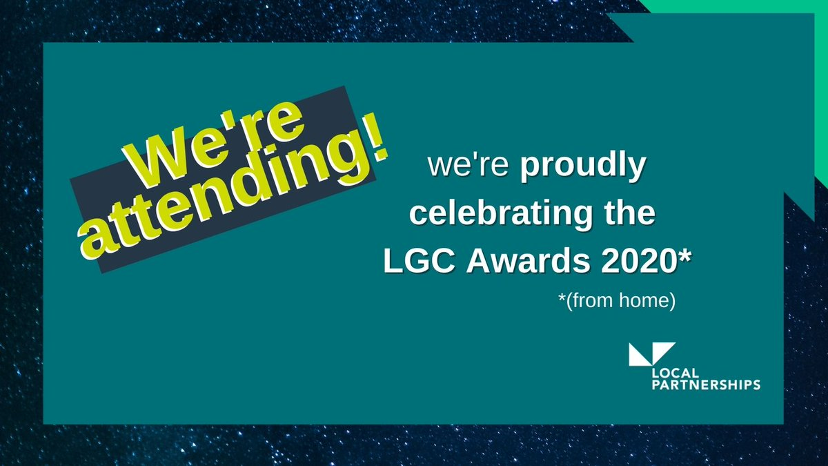We're proudly attending #LGCAwards this afternoon, celebrating the successes our local government colleagues have achieved in 2020 ⭐🏆#LocalGov #CouncilsCan @LGCAwards @LP_LocalGov