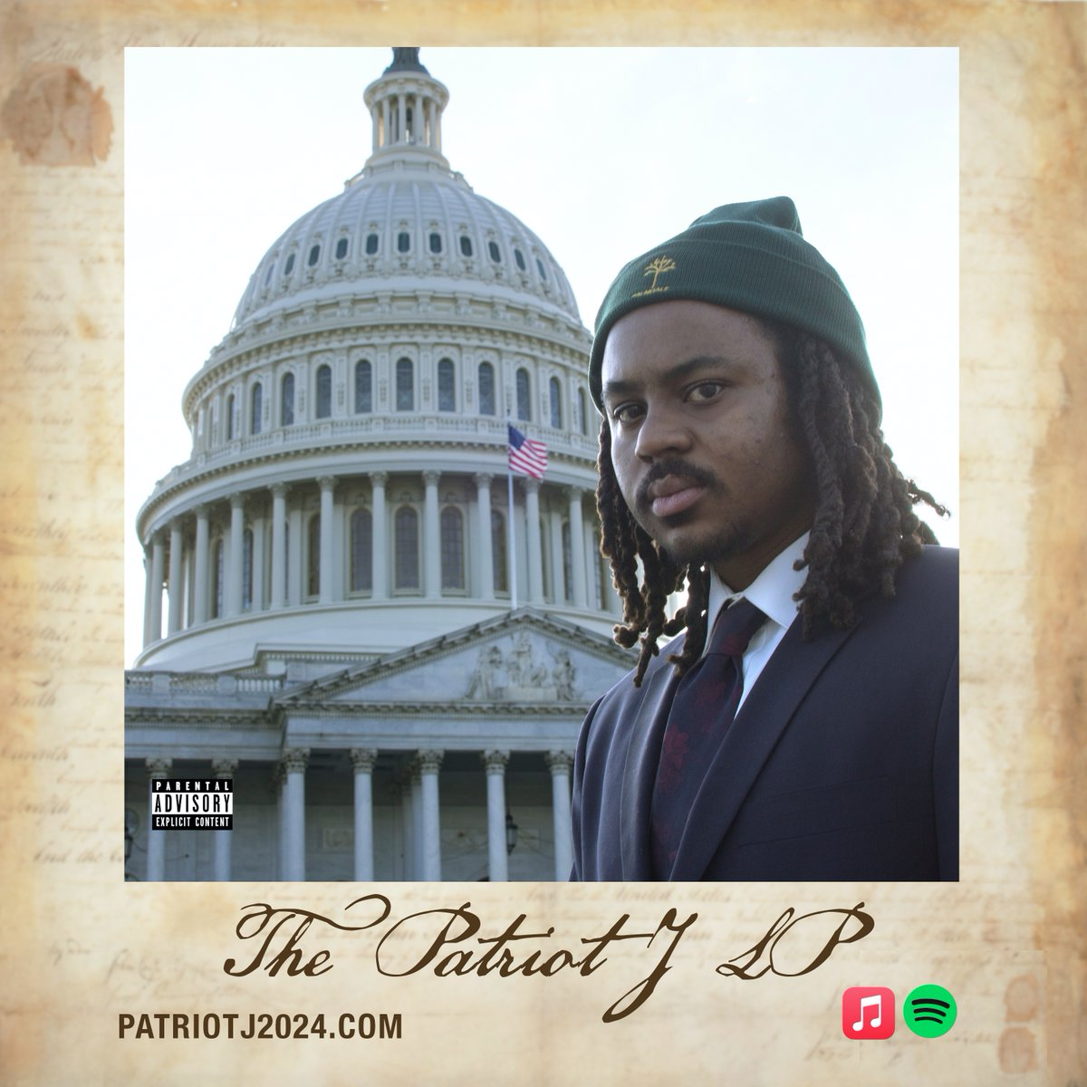 My debut album is finally here! The Patriot J LP 🇺🇸 Stream it: patriotj2024.com/PJLP Own it: coonluminati.com/PJLP Enjoy. 🙂