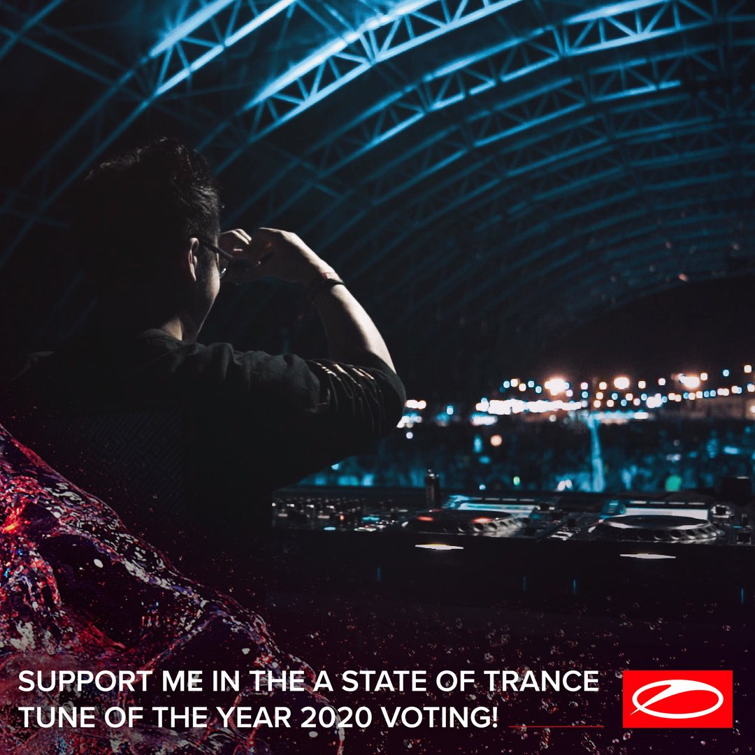 This year's @asot top 50 voting is now open!!! 6 of my tracks are up for the possibility and I would be honoured if any of them would make your list. Vote at https://t.co/eBV9Ts6n3L https://t.co/iVwpGx8pcT