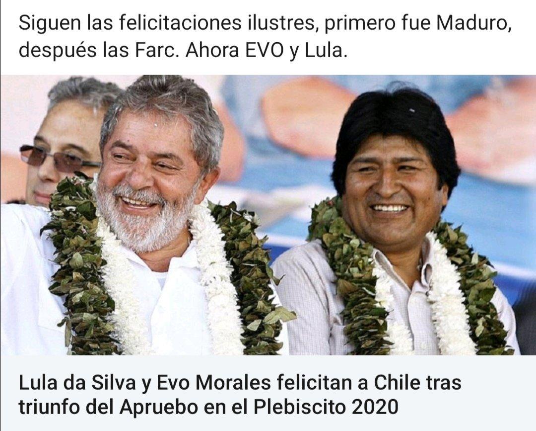#Chile #Chilenos siguen llegando las felicitaciones de grandes grupos de latino América, lo lograron 👍 https://t.co/esTNtA0V5p