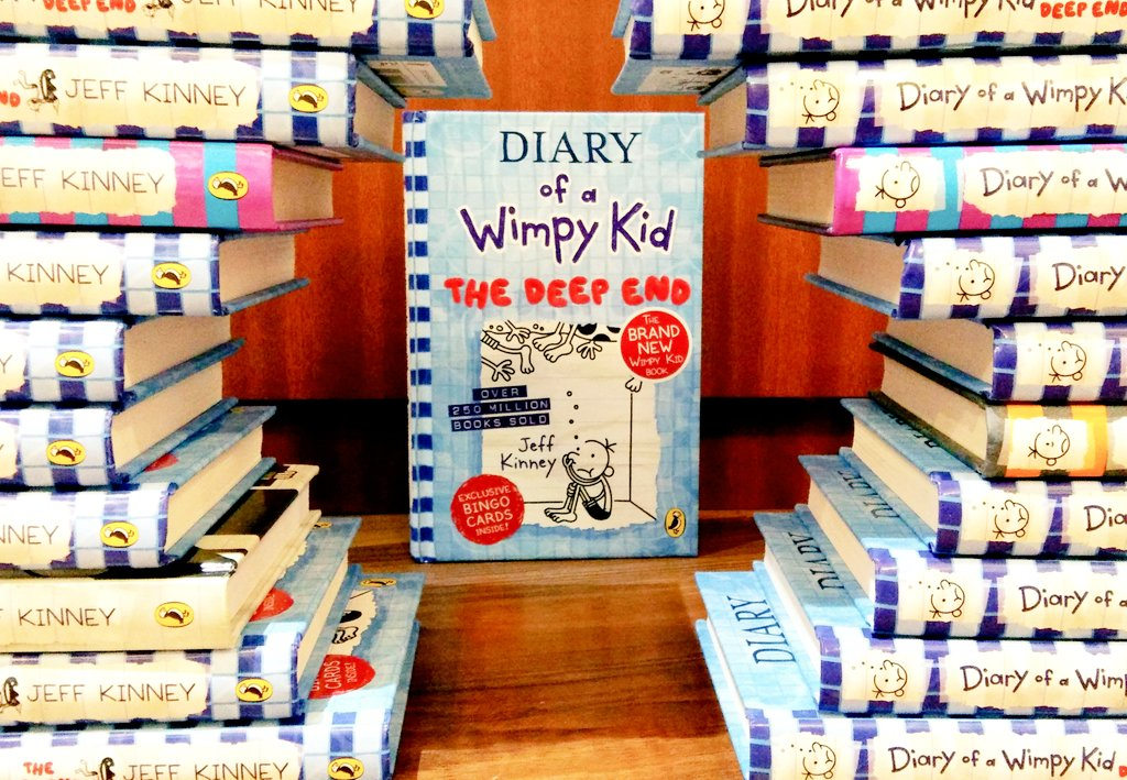 Have you grabbed the latest #diaryofawimpykid? Get your copy now at an insane offer of 25% discount till 31st Oct'20 from a hut near you or message us for delivery details! #limitedperiodoffer #newrelease #thedeepend https://t.co/wbRvqPbaOE