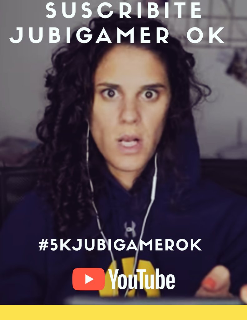 #SUSCRIBITE #A #SU #CANAL #DE #YOUTUBE  ❌ Jubigamer ok ❌   #5kjubigamerok @elliotsofia 🙅🏽♀️ https://t.co/nB8QvKZR6u