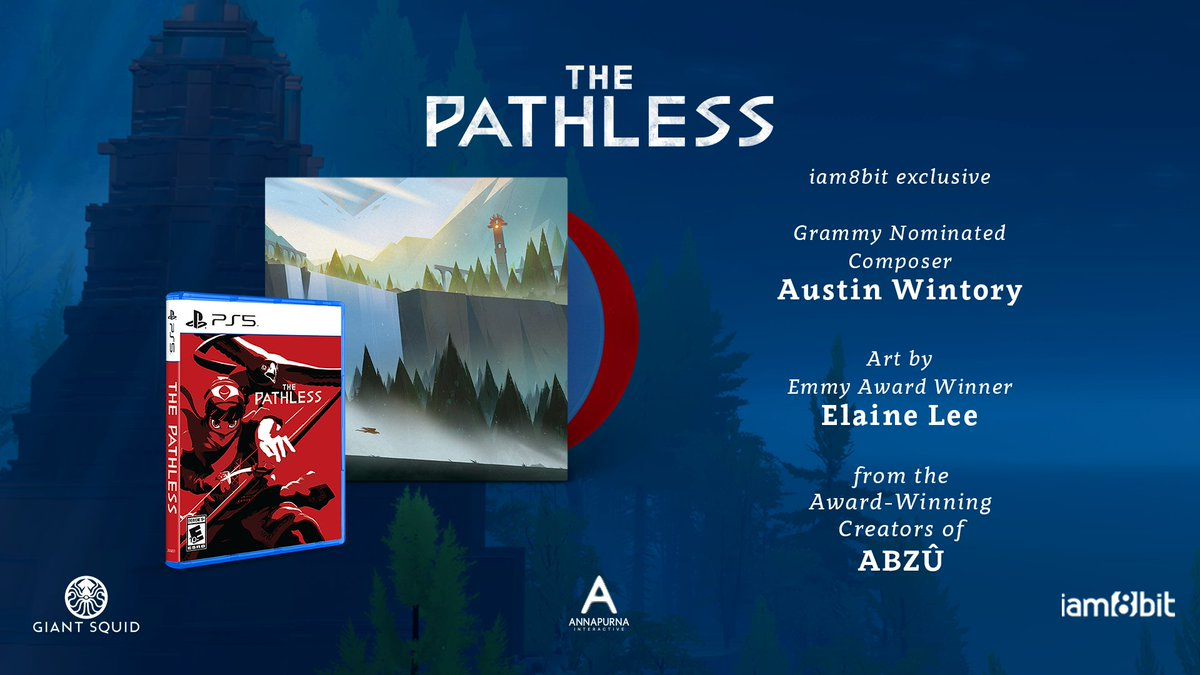 Become the Hunter as you explore a vast and mystical island in The Pathless, the next masterpiece from the creators of ABZÛ, Giant Squid.    Pre-order our first PS5 physical edition and the vinyl soundtrack from the Grammy-nominated @awintory today!