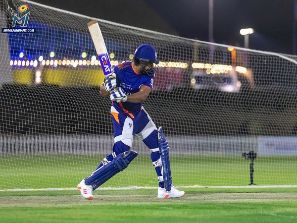 #IPL2020 Rohit Sharma not missing a chance to hit the nets to practice. Will he be ready for the upcoming games? sify.com/sports/ipl-13-… #MI