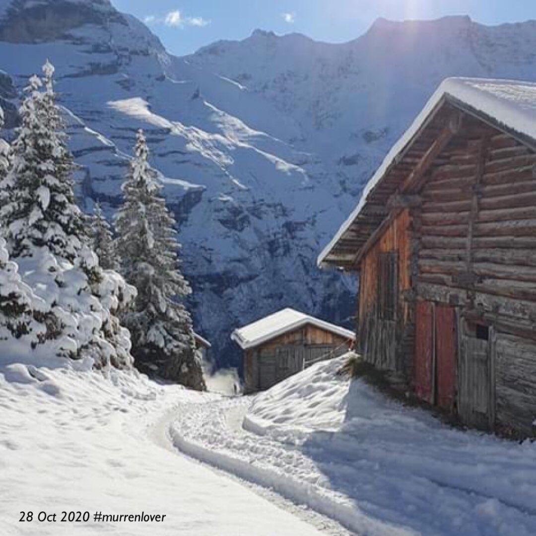 Pretty photos from Mürren, Switzerland 🇨🇭