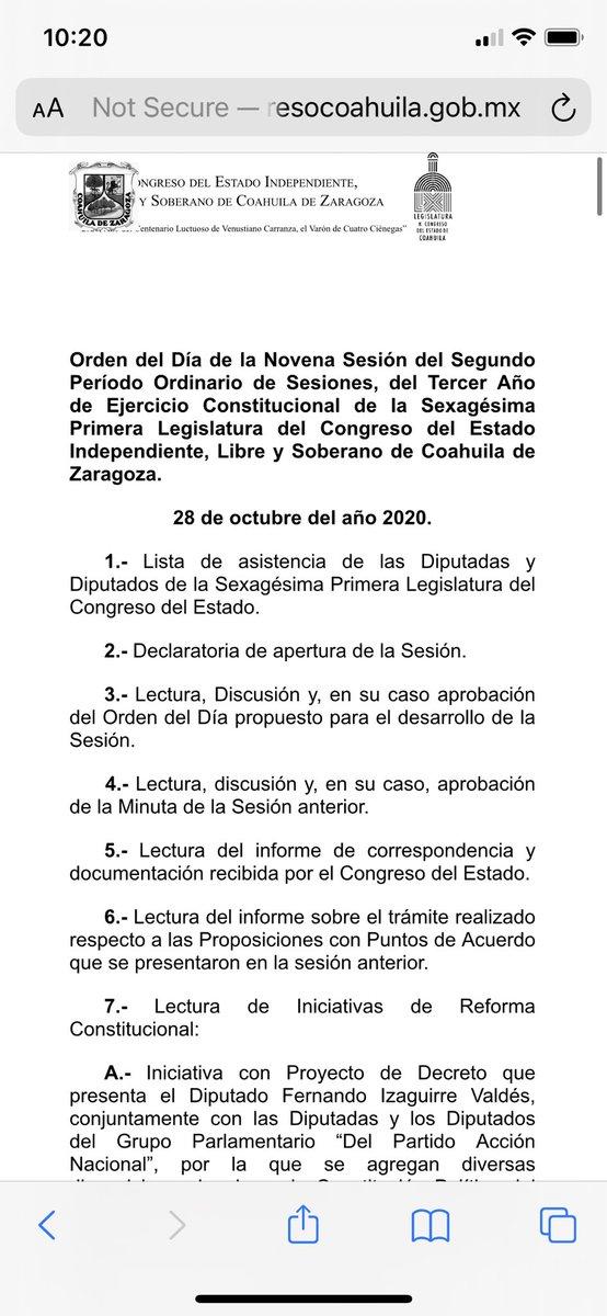 Hoy el @CongresodeCoah discutirá la reforma constitucional que establece el #DerechoALaMovilidad y dicta que en 180 exista la Ley General de #Movilidad y #SeguridadVial . ¡Esperamos que aprueben por unanimidad!  En esta liga se puede seguir la sesión: https://t.co/41S3CZmuC1 https://t.co/LAjHDJZXlX