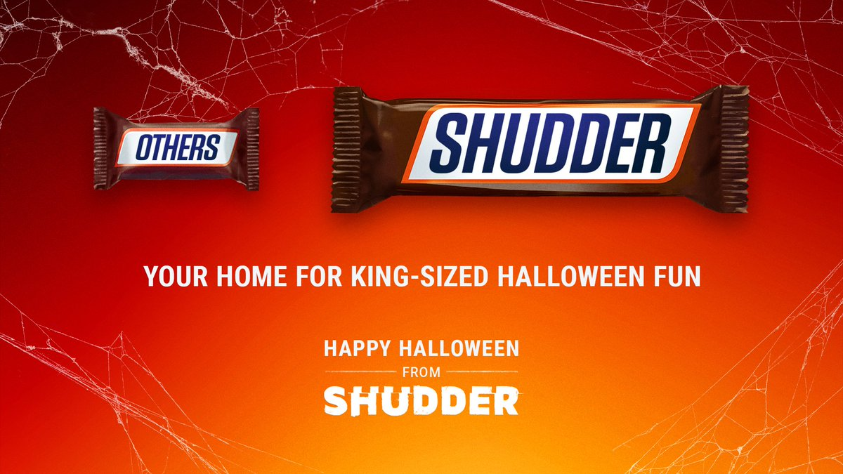 Go big or go home. 🍫🎃 #61DaysofHalloween https://t.co/qLThvT5j6Y