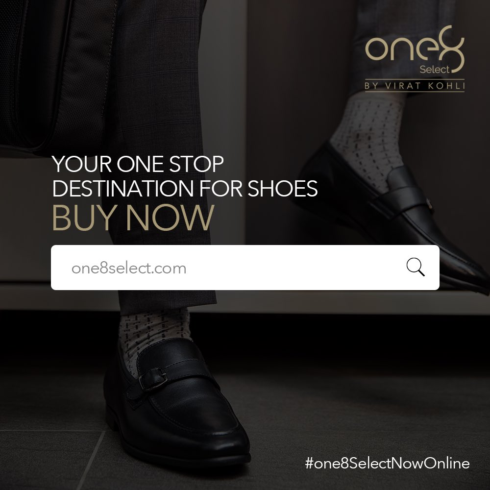 Discover a range of footwear that is designed to please your eyes and pamper your feet! Shop now from  #one8SelectNowOnline #one8  @one8world  #viratkohli #shoegame #formalshoes #mensshoes #mensfashion #yourbestfootforward #one8select #shoegram #shoestyle