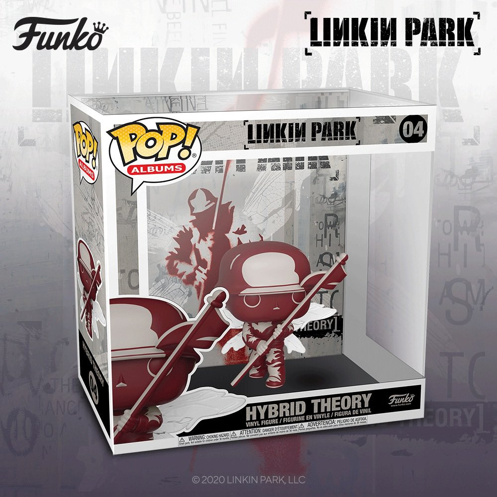 Excited to announce the Hybrid Theory @OriginalFunko Pop! Album. Pre-Order your Hybrid Theory Street Soldier in the Official Linkin Park Store: https://t.co/tgYZCswSOj  #FunkoPop #HybridTheory20 https://t.co/OEzVxJQu1s