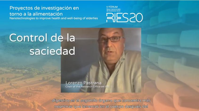 """""""Podemos controlar la #saciedad usando #nanotecnología"""" Lorenzo Pastrana Presidente de la Oficina de Investigación del #INL Mesa Redonda: Proyectos de investigación entorno a la alimentación #RIES20 #EnVivo Accede a ► https://t.co/PNzhpxPSaX https://t.co/GKZGu7SLy5"""