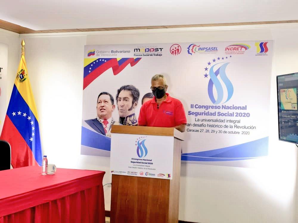 #EnVivo🔴 | Félix Flores: Tenemos que verificar que en las entidades trabajos se cumplan todas las normas de bioseguridad.  #GarantiaDeSeguirdadSocial  #CivismoYParticipacionDemocratica https://t.co/kztLYqTibD