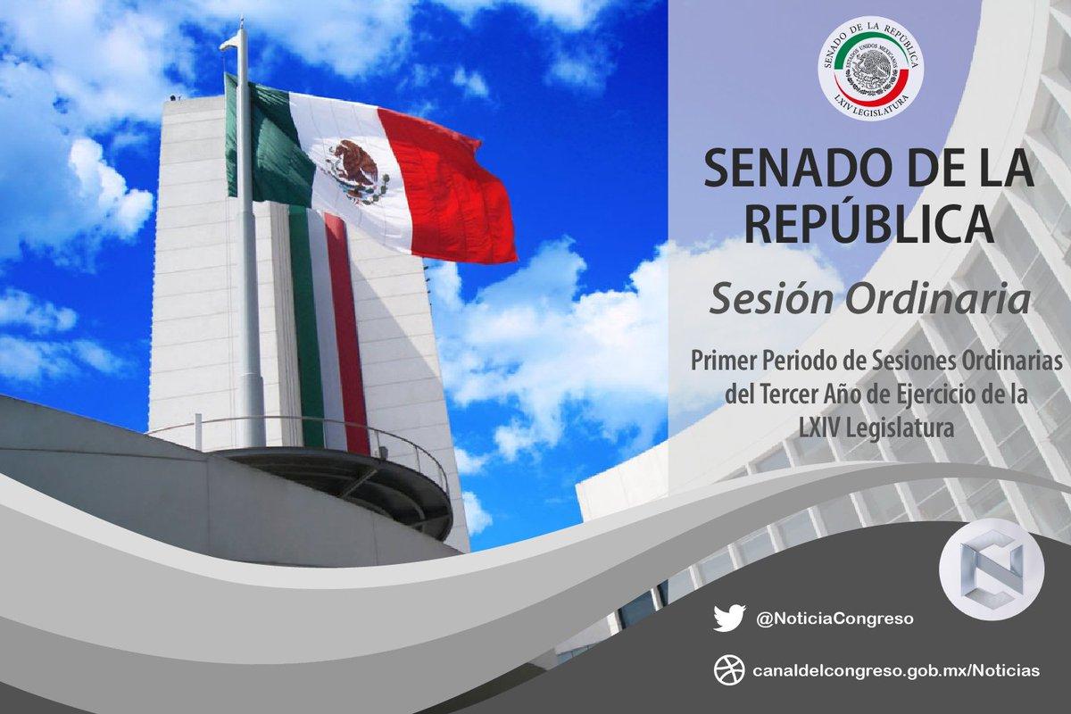 🔔 | Inicia #SesiónSenado correspondiente al 28 de octubre de 2020. Consulta la Gaceta 📃: https://t.co/c3MkyjGyXl Sigue la transmisión #EnVivo por el @CanalCongreso 📺45.1 🌐https://t.co/ayEvoVafnu 📱https://t.co/jL6z2UuwEs https://t.co/9xWBqBYYje