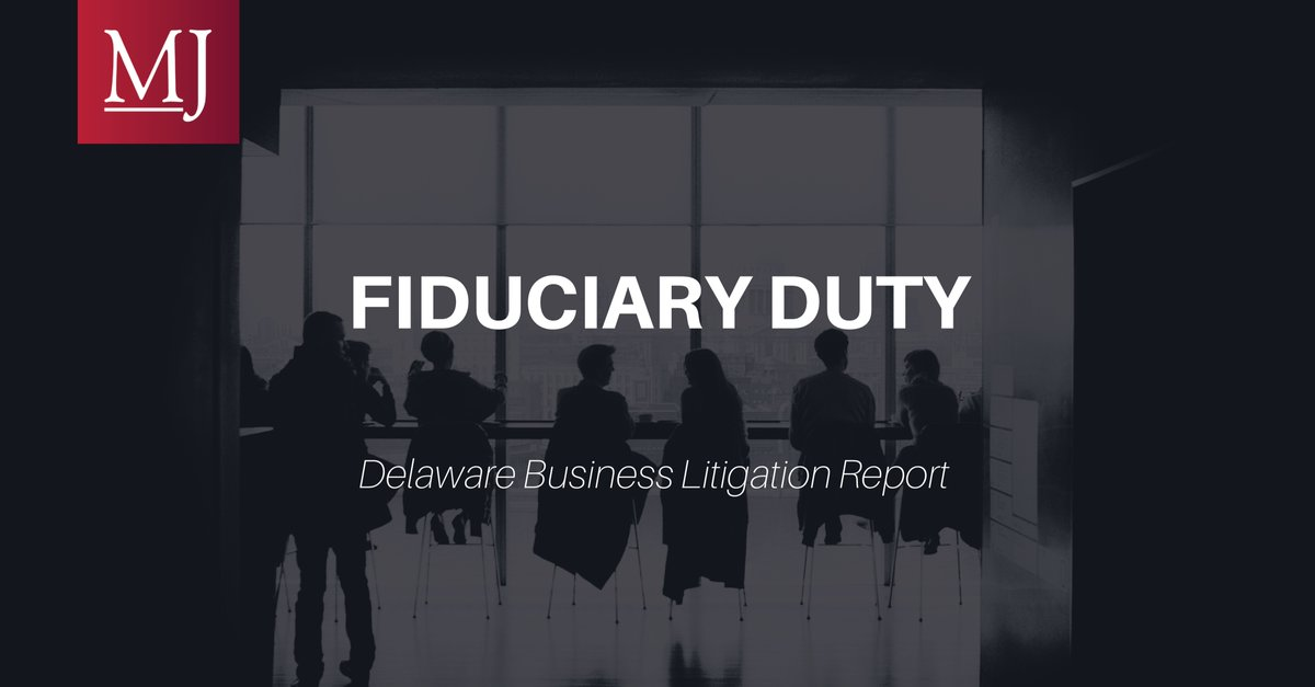 The Court of Chancery recently confirmed that the threat of a proxy contest from an activist investor alone was insufficient to render director defendants conflicted in a post-closing challenge to a sale of the company. https://t.co/mLA4YZTeyt #fiduciary #litigation https://t.co/6xDmRWrbaU