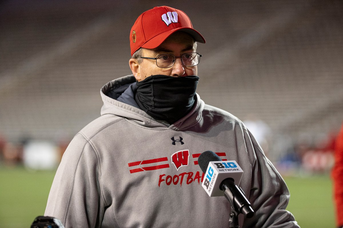 The Big Ten football game between the Wisconsin Badgers and the Nebraska Cornhuskers scheduled for Saturday has been canceled due to several positive Covid-19 cases within the Wisconsin football program https://t.co/z6pq4obM2c https://t.co/GbvreofiiB